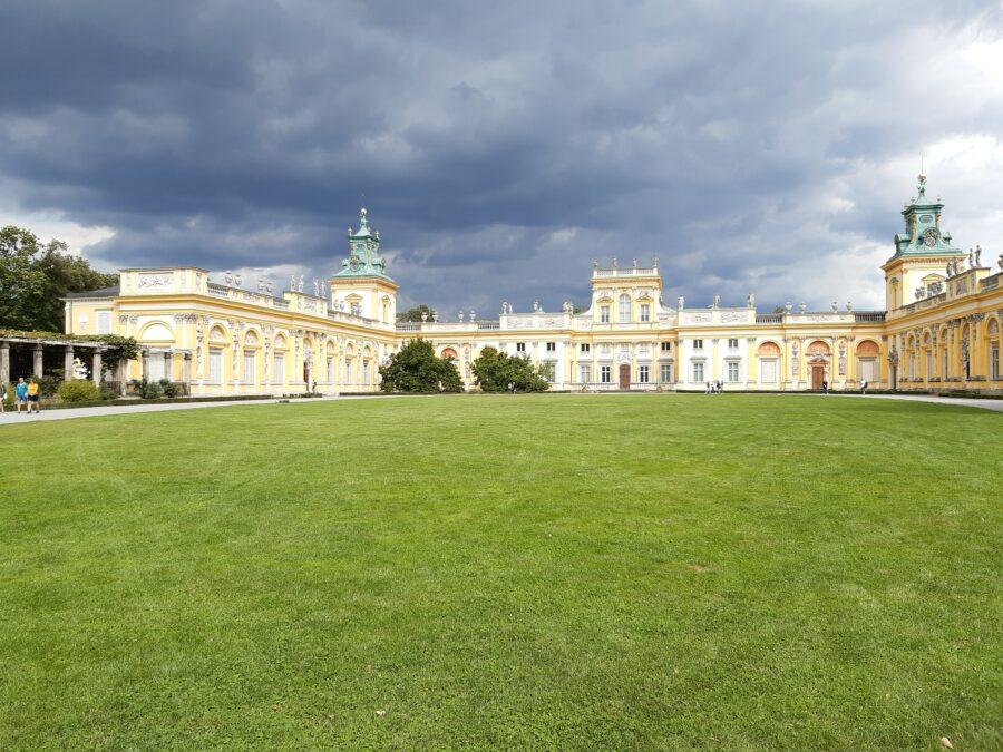 park pałacowy Wilanów